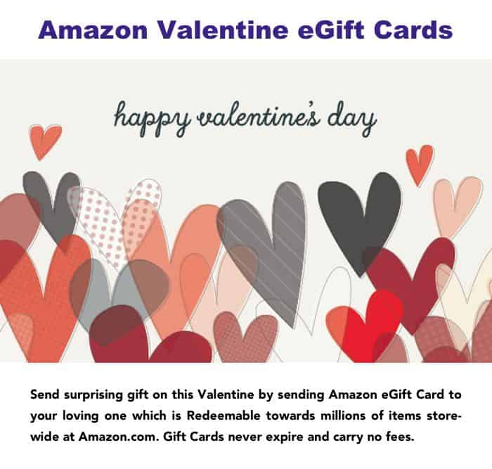 Valentines day egift card for her