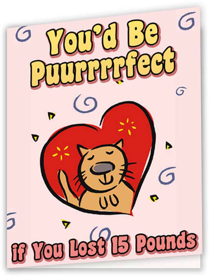 valentines day cards for health conscious people