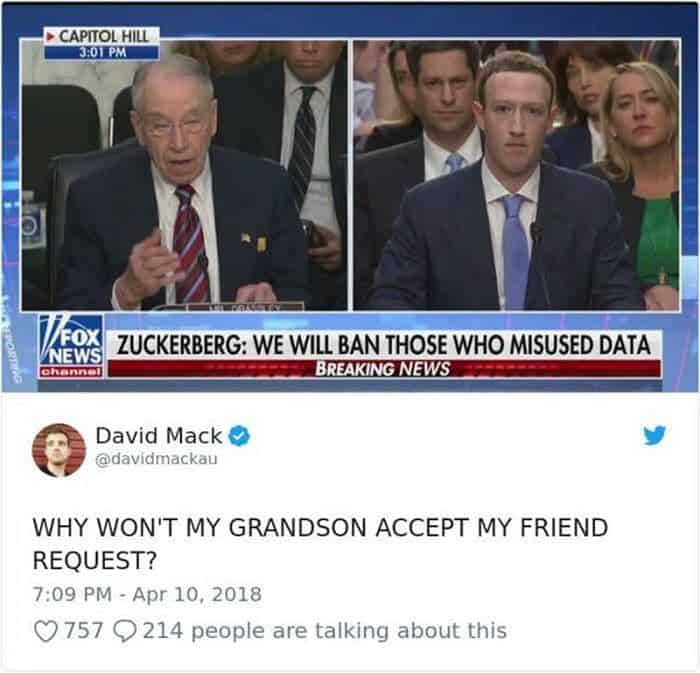 34 Viral Memes of Mark Zuckerberg Congressional Hearing Will Make Your Day -27