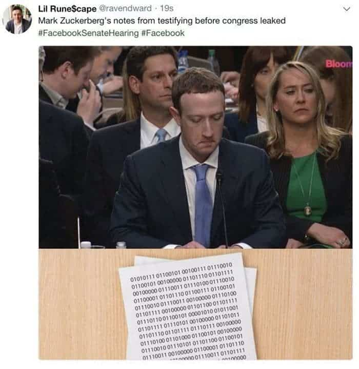 34 Viral Memes of Mark Zuckerberg Congressional Hearing Will Make Your Day -30