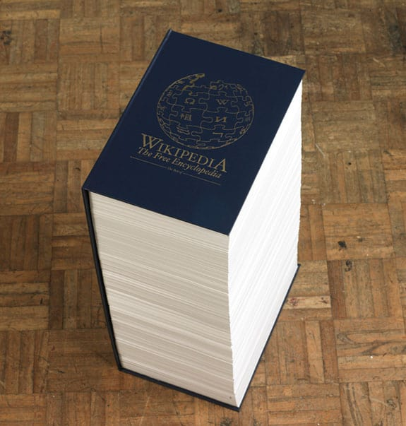 Funny Wikipedia Printed Book That You Can't Take With You -01