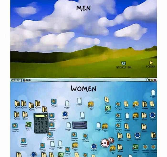 15 Women VS Men Differences Will Blow Your Mind -11